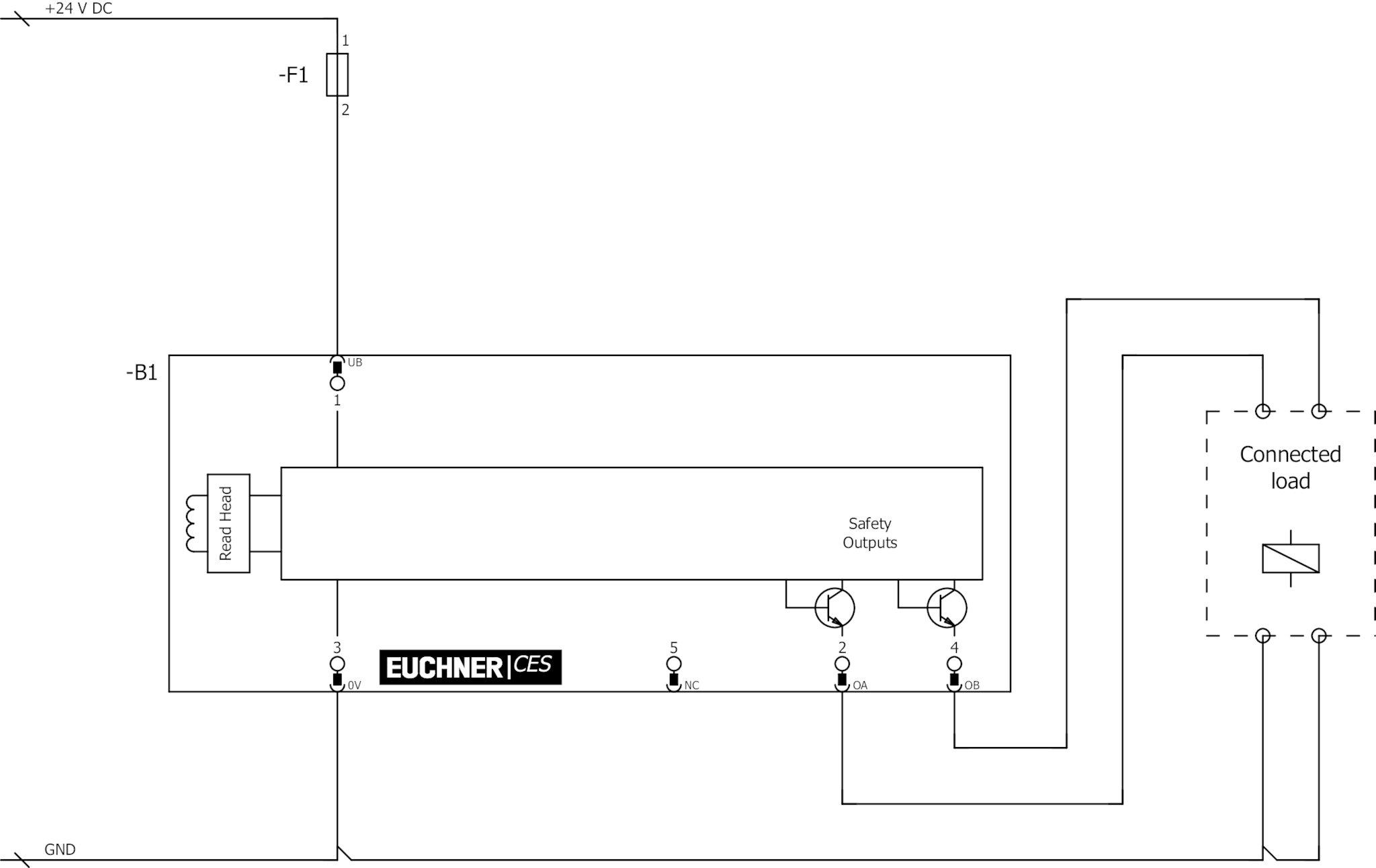 CESAPC01AHSB111145 Noncontact safety switch CESAP