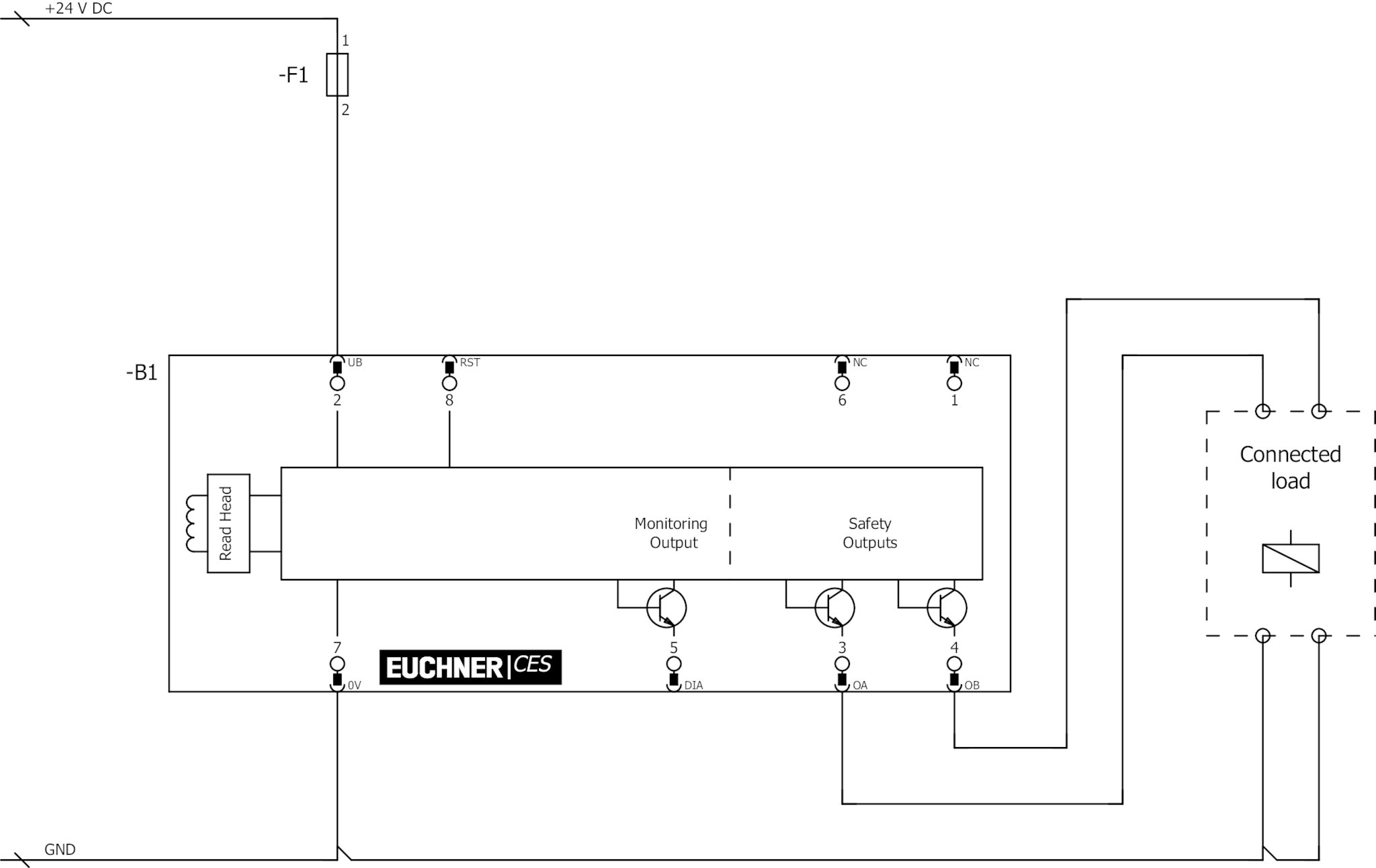 Lvdt Wiring Polarity Designation Diagram