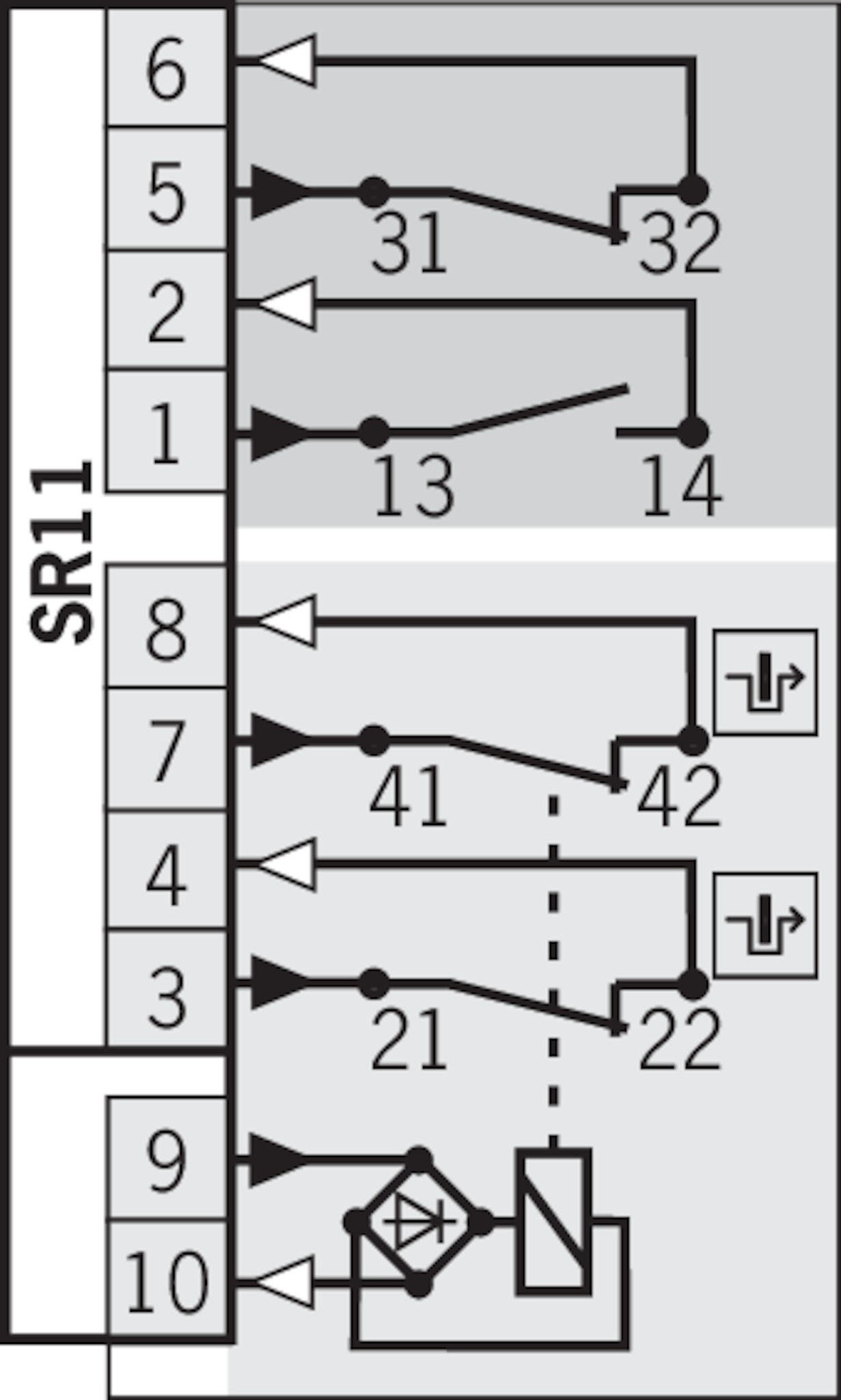 stp3 wiring diagram stp3a-4121a024sr11   euchner – more than safety. fuel pump wiring diagram for 1996 mustang