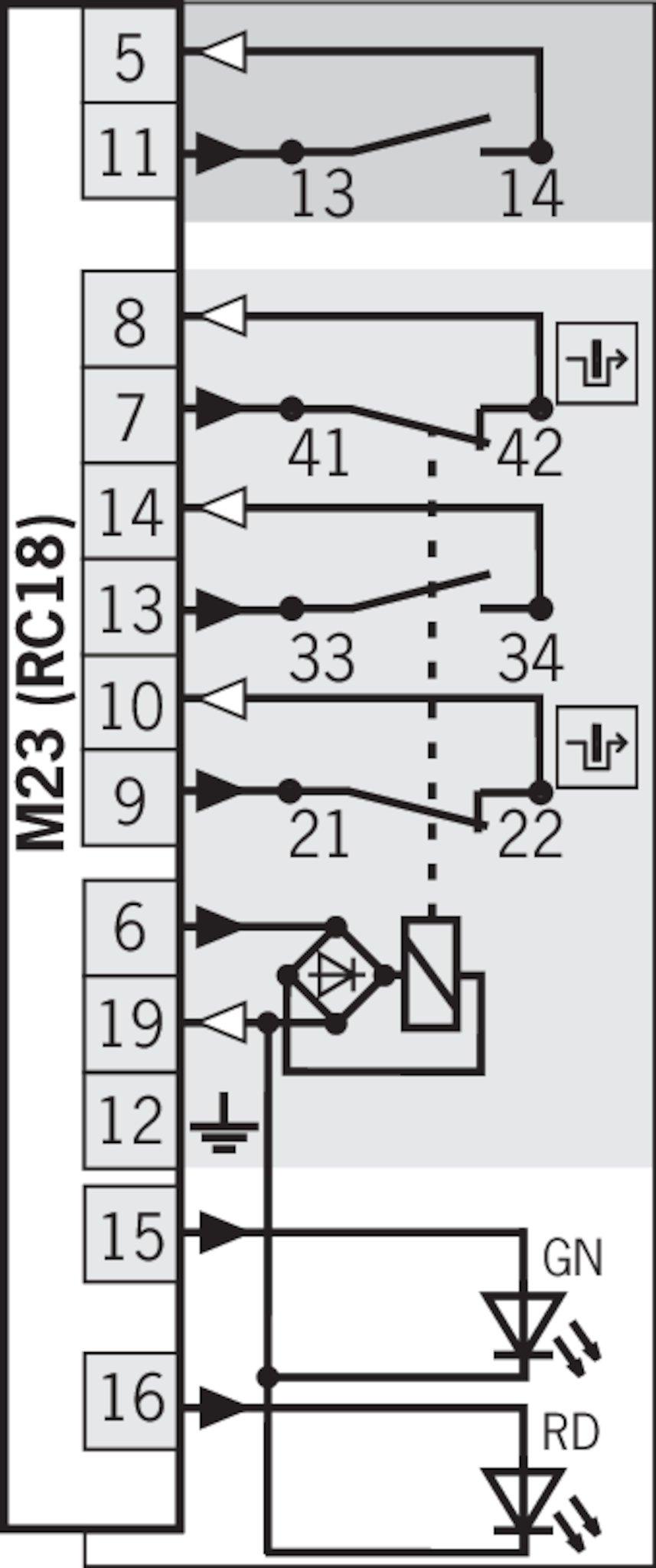 24//7Auto 2 x R/ücklichter 12 V//24 V mit Pin-Anschluss f/ür DAF LF XF Ducato Eurocargo