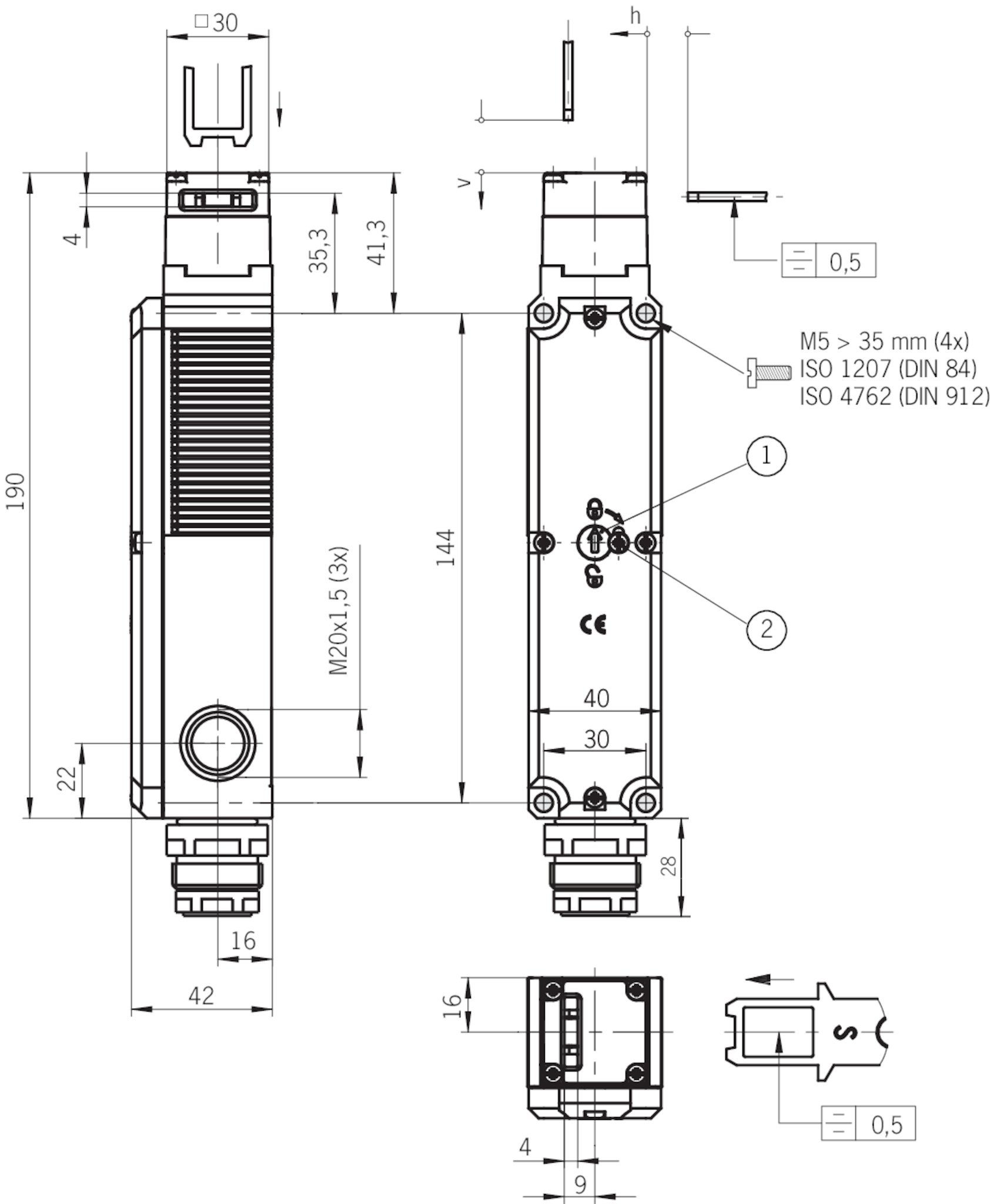 stp3a-4121a024sr11   euchner – more than safety. stp3 wiring diagram e bike controller wiring diagram