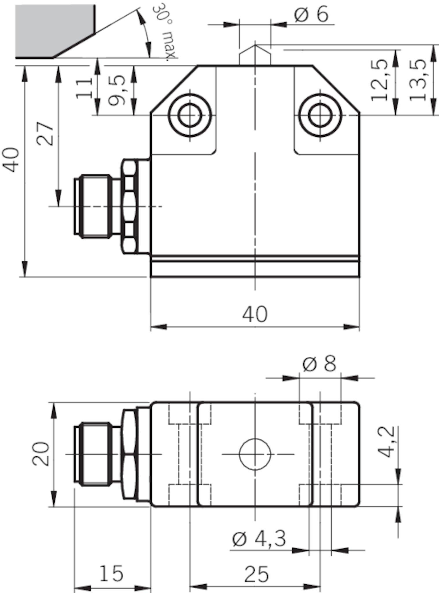 n01d550 mc1526 precision single limit switch n01 chisel. Black Bedroom Furniture Sets. Home Design Ideas