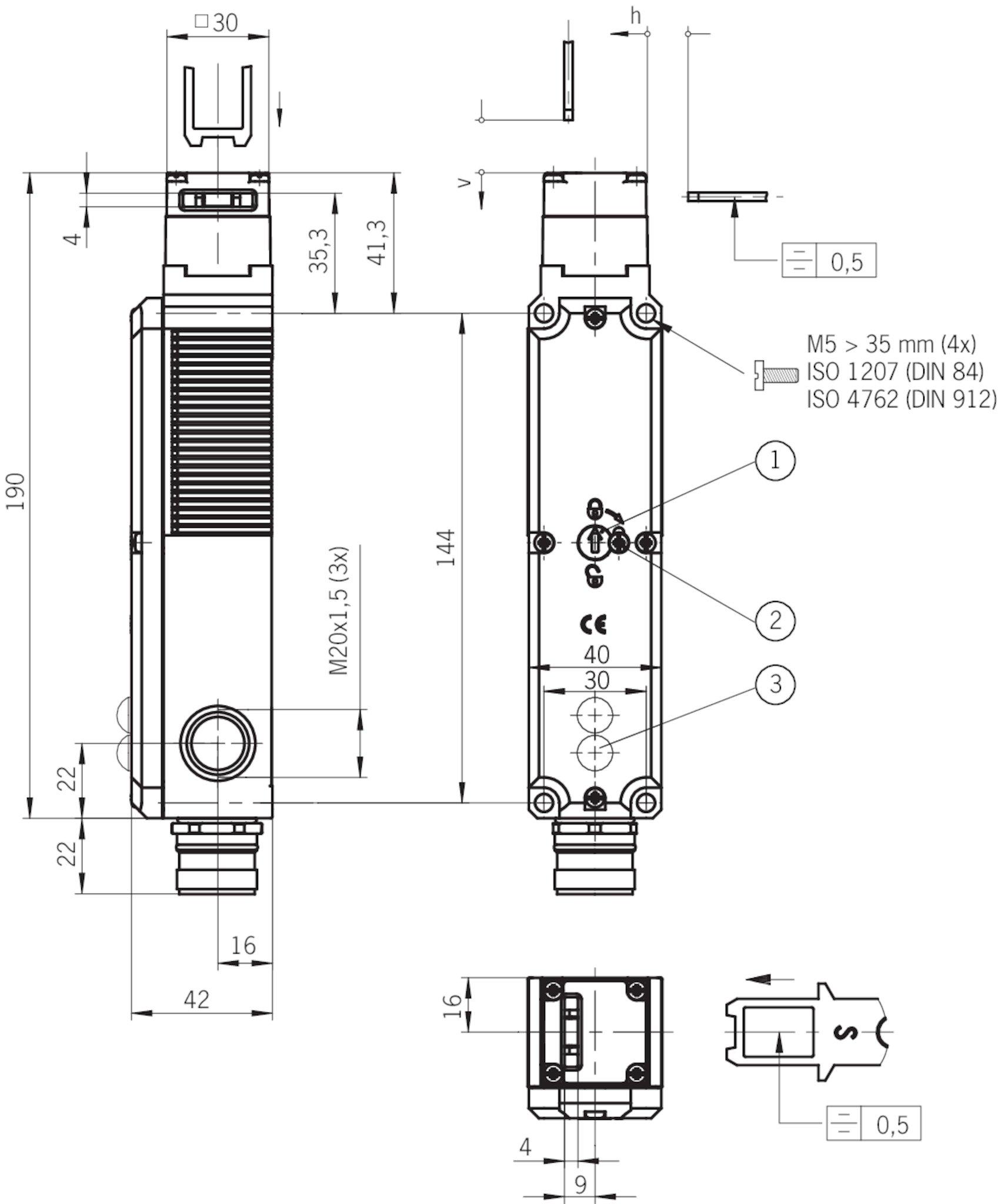 wiring diagram 1971 honda 750 four stp3a-2131a024l024rc18   euchner – more than safety. stp3 wiring diagram