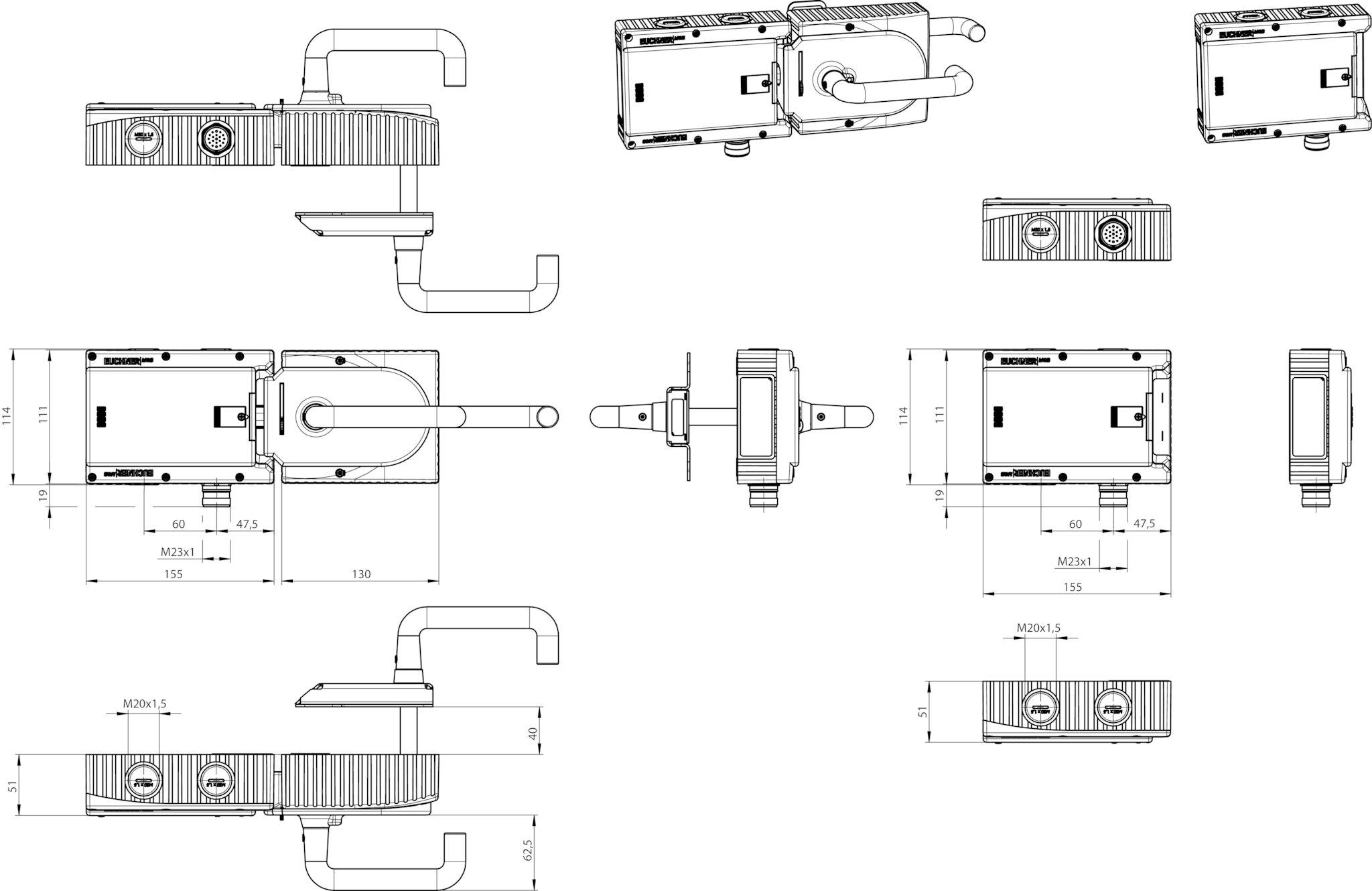 Mgb L0he Apa R 112600 Euchner More Than Safety