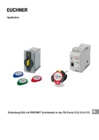 EKS-A-AIX-G18 Interface adapter EKS PROFINET modular | EUCHNER
